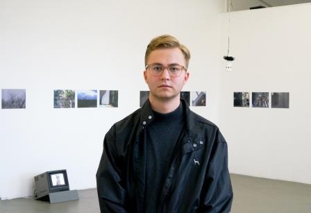 Takeo Marquardt, der Gewinner des Artist-in-Residence-Stipendiums