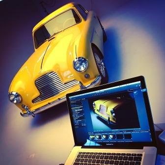Hiscox Classic Cars Jahr 2016: Aston Martin Fotoshooting