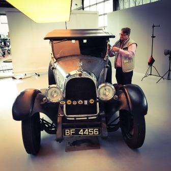 Hiscox Classic Cars Jahr 2016: Falcon Fotoshooting