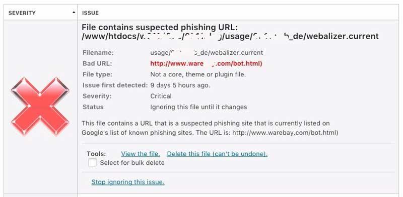 Wordfence Security Lücke gefunden