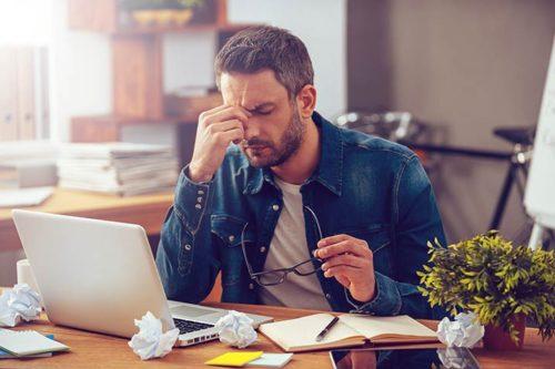 Stress in der Arbeit: 5 Stresstypen