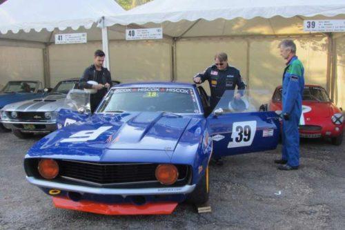 Hiscox Classic Cars Jahr 2016: Camaro beim Roßfeldrennen