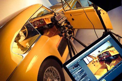 Hiscox Classic Cars Jahr 2016: Aston beim Fotoshooting
