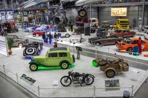 Ausstellung 100 Jahre BMW. © TECHNIK MUSEUM SPEYER