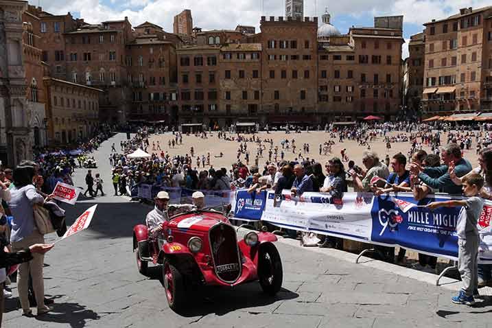 Mille Miglia Bericht: Siena