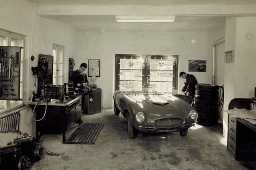 Geschichte von Kontrukteur Alfred Hartmann: In der Nonntal-Werkstatt