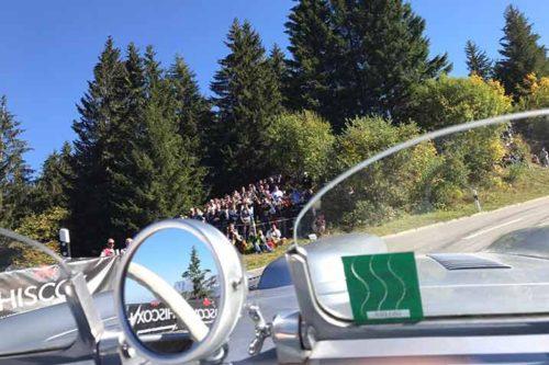 Roßfeldrennen Rückblick: Viele Schaulustige an der Strecke