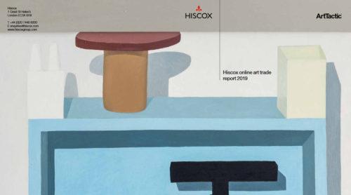 Erste Seite des PDFs zum Hiscox Online Art Trade Report 2019