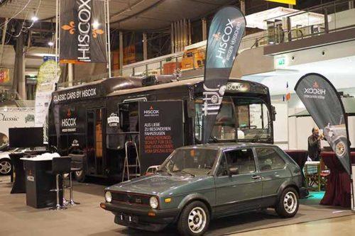 Retro Classics Stuttgart 2020 im Rückblick: Der Hiscox Messestand