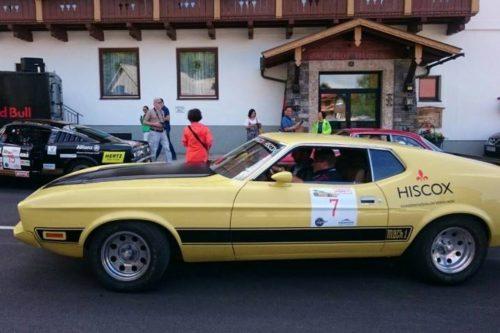Ford Mustang Mach 1 Oldtimer bei der Ennstal Classic
