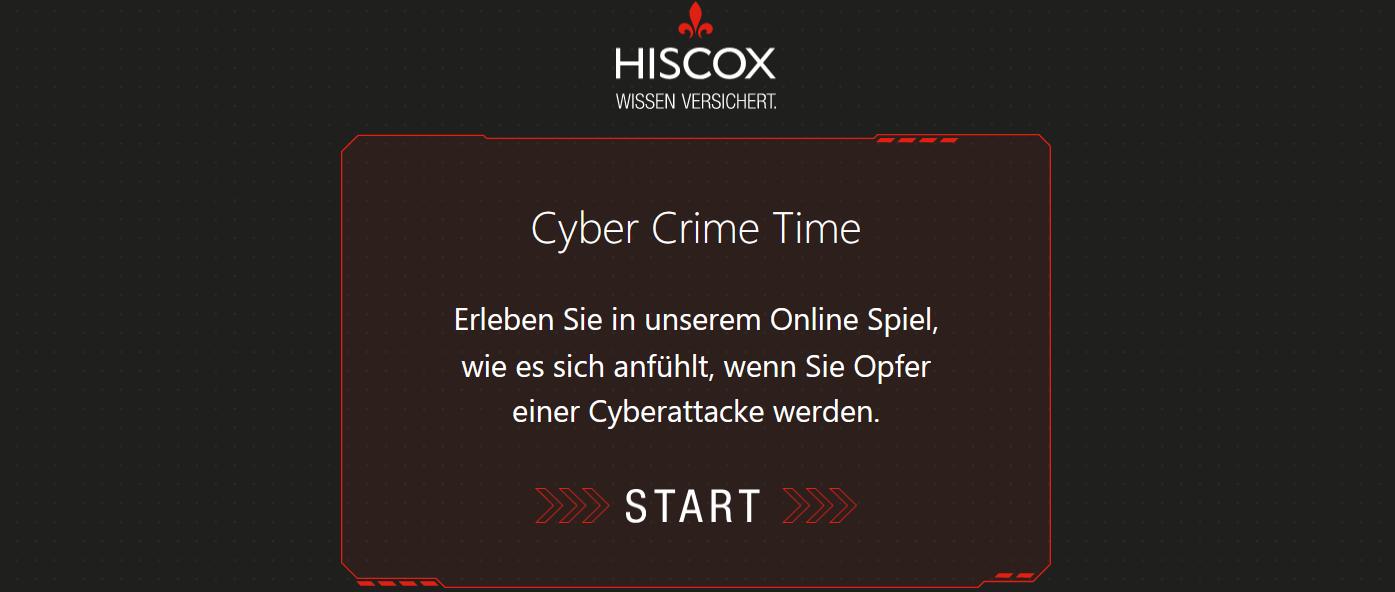 Cyber Crime Spiel Screenshot