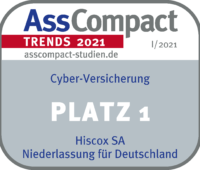 HISCOX TRENDS I 2021 Cyber Platz 1